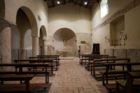 Carsulae chiesa interno