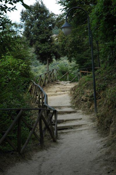 Cascata delle Marmore percorso La Ciriola