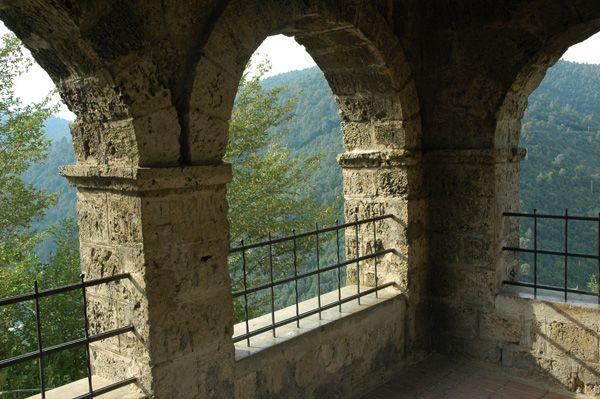 Cascata delle Marmore vista La Ciriola