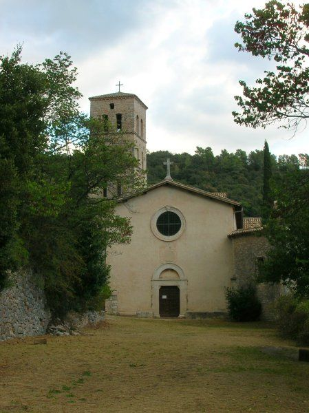 Ferentillo San Pietro in Valle facciata