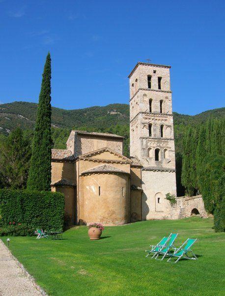 Ferentillo chiesa San Pietro in Valle