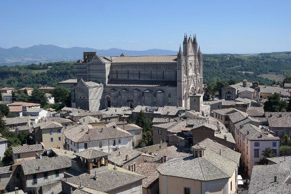 Orvieto vista dalla Torre del Duomo