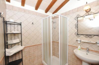 Camere Relais doccia Agriturismo La Ciriola Cascata delle Marmore Piediluco