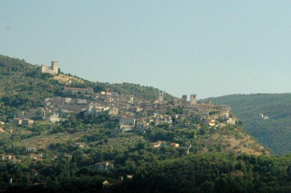 Narni vista Umbria