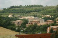 Todi vista Umbria